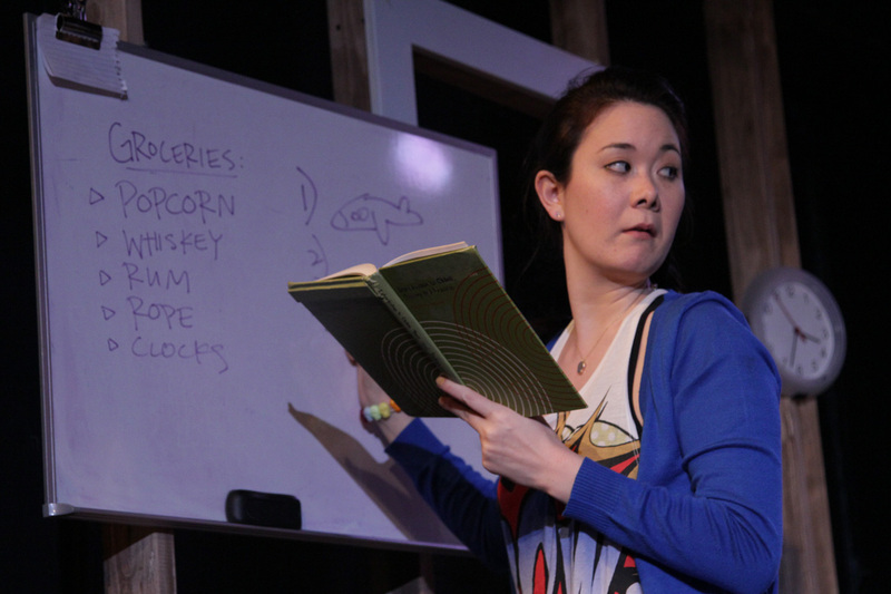 Keiko Green in Chaos Theory; Photo by Ian Johnston